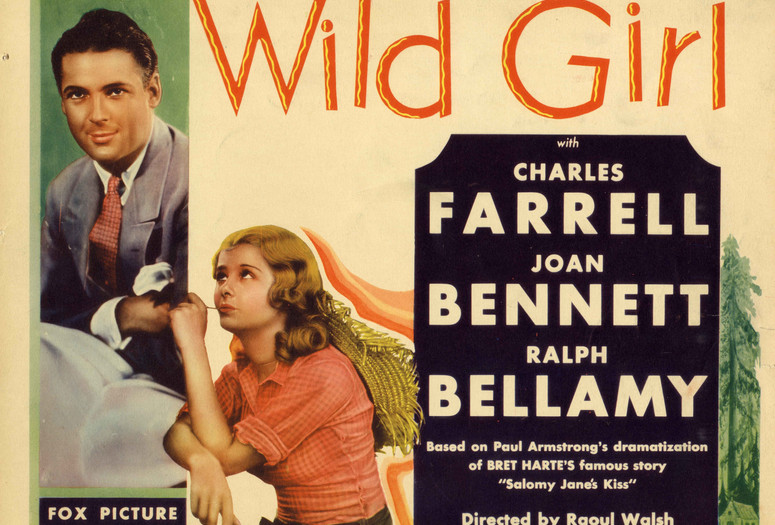 Wild Girl. 1932. USA. Directed by Raoul Walsh