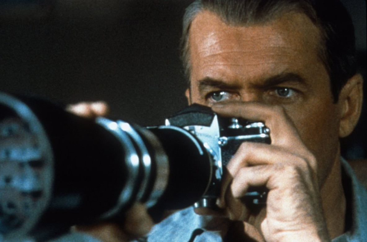 Rear Window. 1954. USA. Directed by Alfred Hitchcock