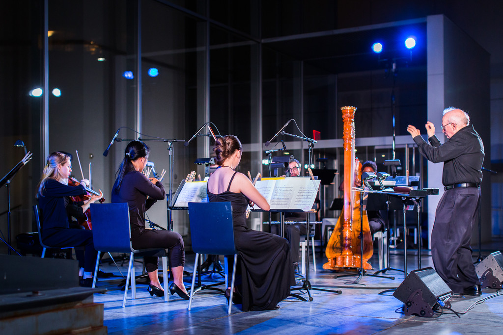 New Juilliard Ensemble, Summergarden 2015. Photo: Scott Rudd