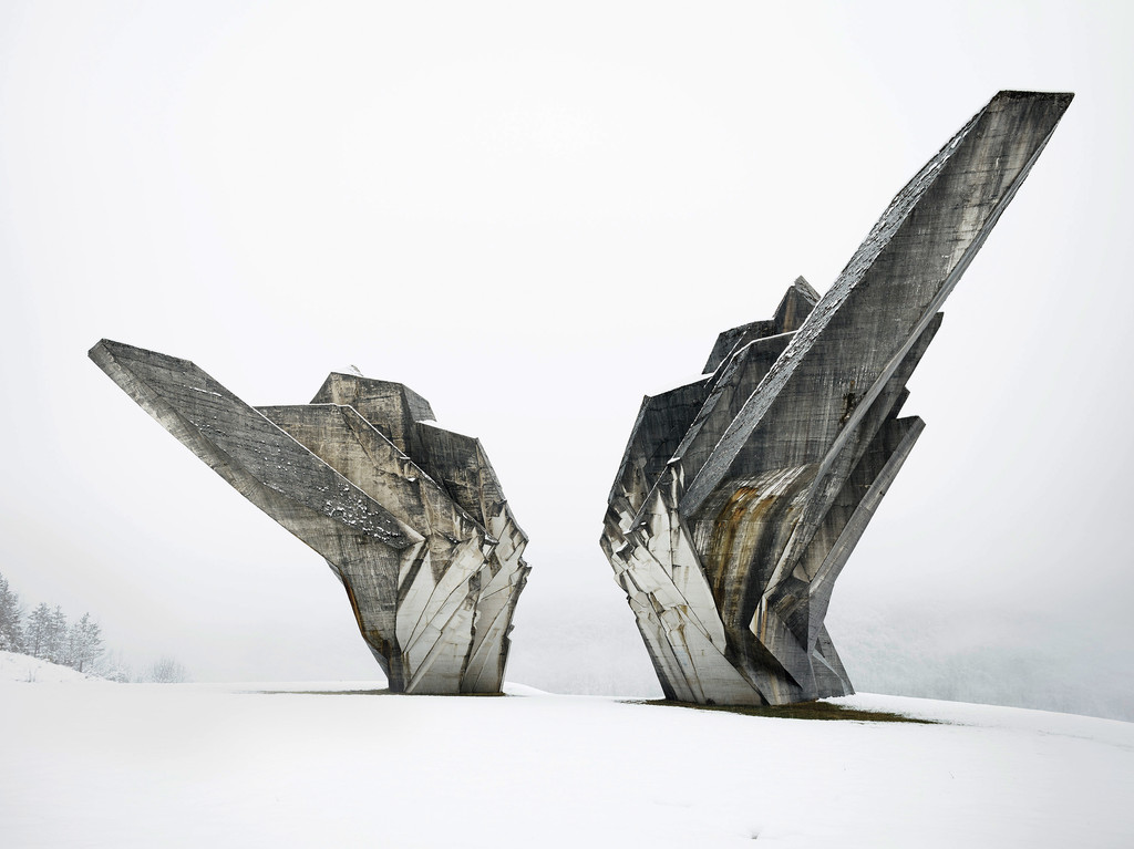Miodrag Živković, *Monument to the Battle of the Sutjeska*, 1965-71, Tjentište, Bosnia and Herzegovina. Photo: Valentin Jeck, 2016, commissioned by the Museum of Modern Art.
