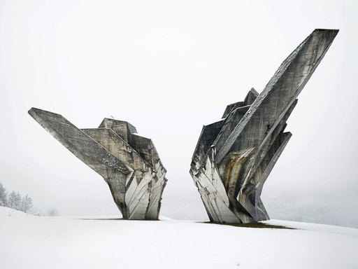 Miodrag Živković, Monument to the Battle of the Sutjeska, 1965-71, Tjentište, Bosnia and Herzegovina. Photo: Valentin Jeck, 2016, commissioned by the Museum of Modern Art.