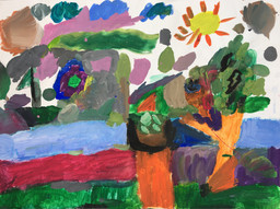 Artwork by Create Ability participant Emilie Seidel