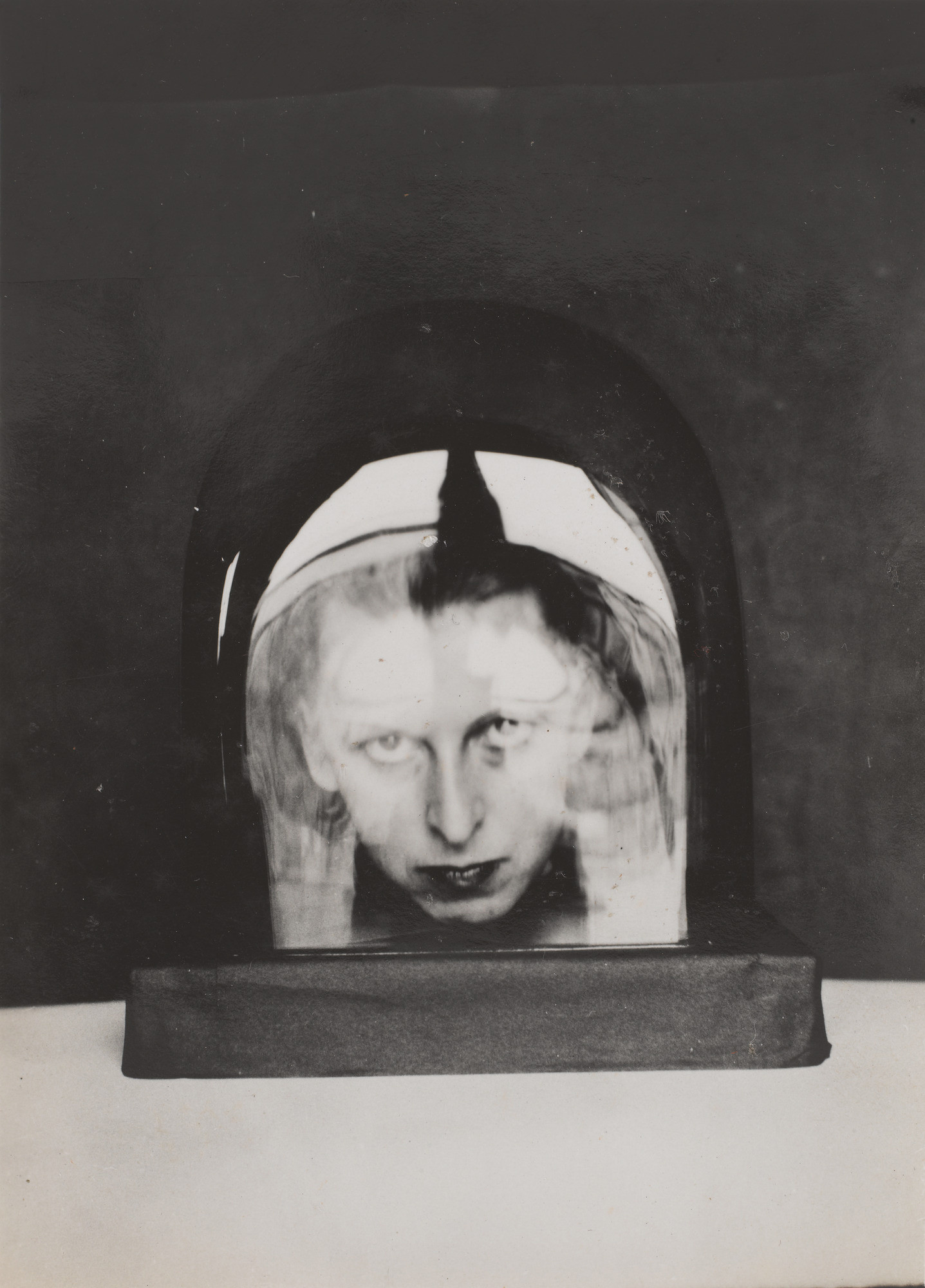 "Gelatin silver print, 4 1/16 x 2 15/16"" (10.3 x 7.4 cm). Thomas Walther Collection. Abbott-Levy Collection funds, by exchange. © 2018 Estate of Claude Cahun"
