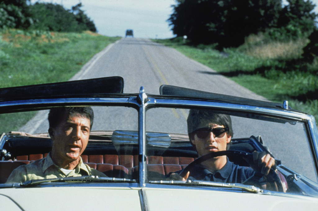 *Rain Man*. 1988. USA. Directed by Barry Levinson. Courtesy of Photofest