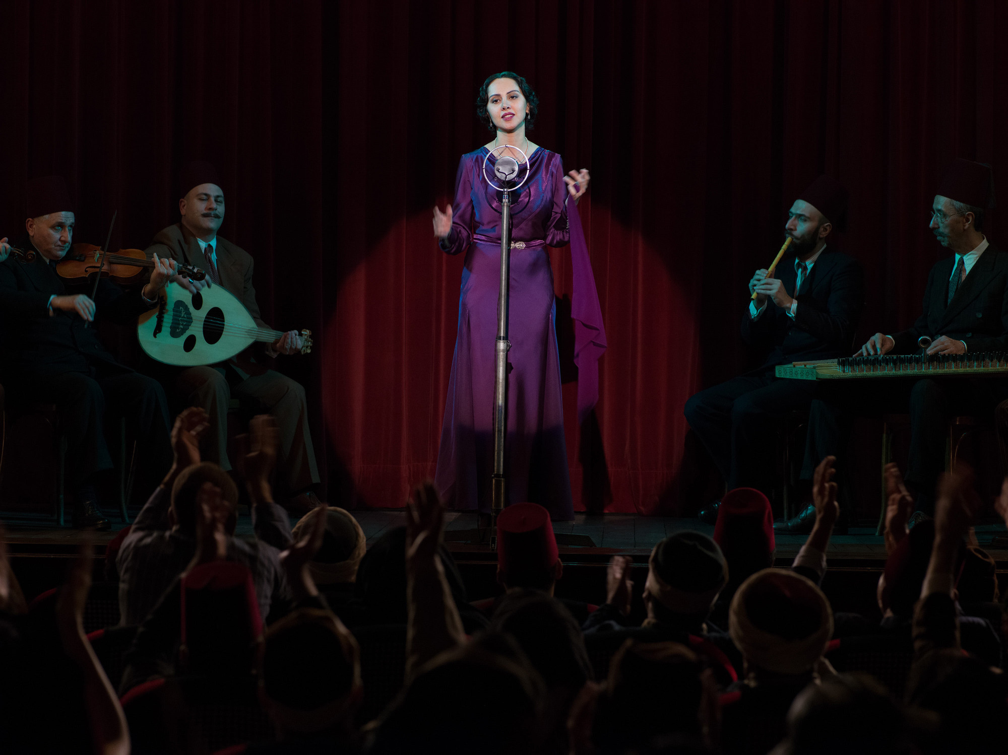 Looking for Oum Kulthum. 2017. Germany/Austria/Italy/Morocco. Directed by Shirin Neshat in Collaboration with Shoja Azari. Courtesy of Razor Film