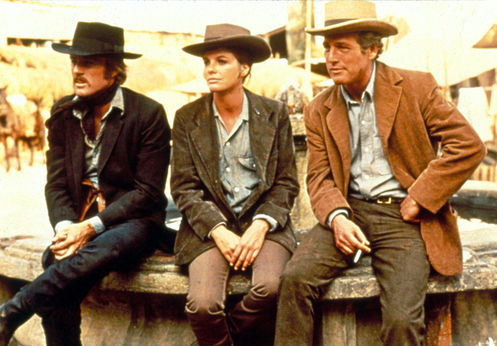 Butch Cassidy and the Sundance Kid. 1969. USA. Directed by George Roy Hill. Courtesy of 20th Century Fox/Photofest. © 20th Century Fox