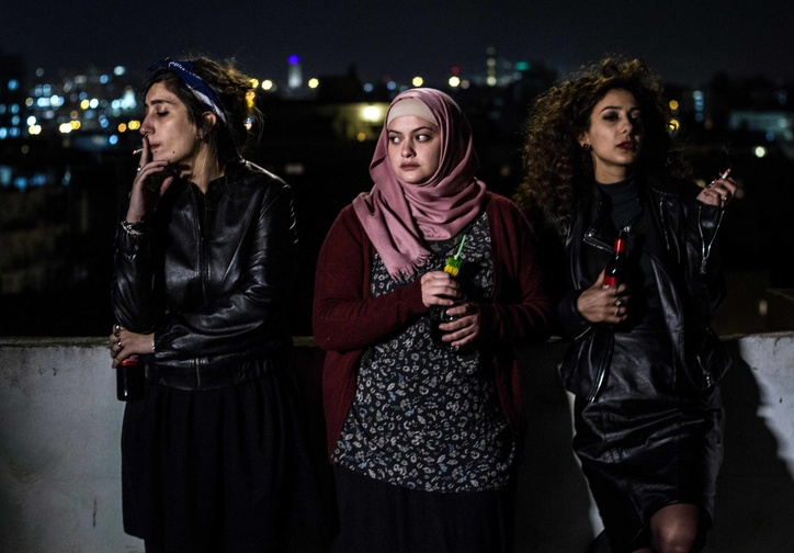 Bar Bahar (In Between). 2017. Israel. Written and directed by Maysaloun Hamoud. Courtesy of Film Movement