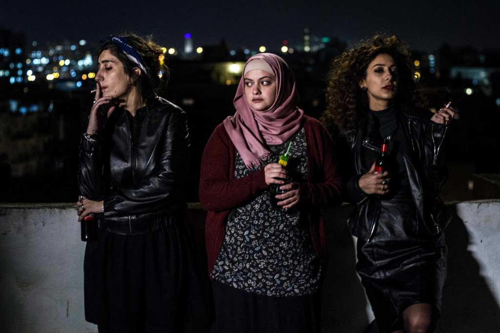 *Bar Bahar (In Between)*. 2017. Israel. Written and directed by Maysaloun Hamoud. Courtesy of Film Movement