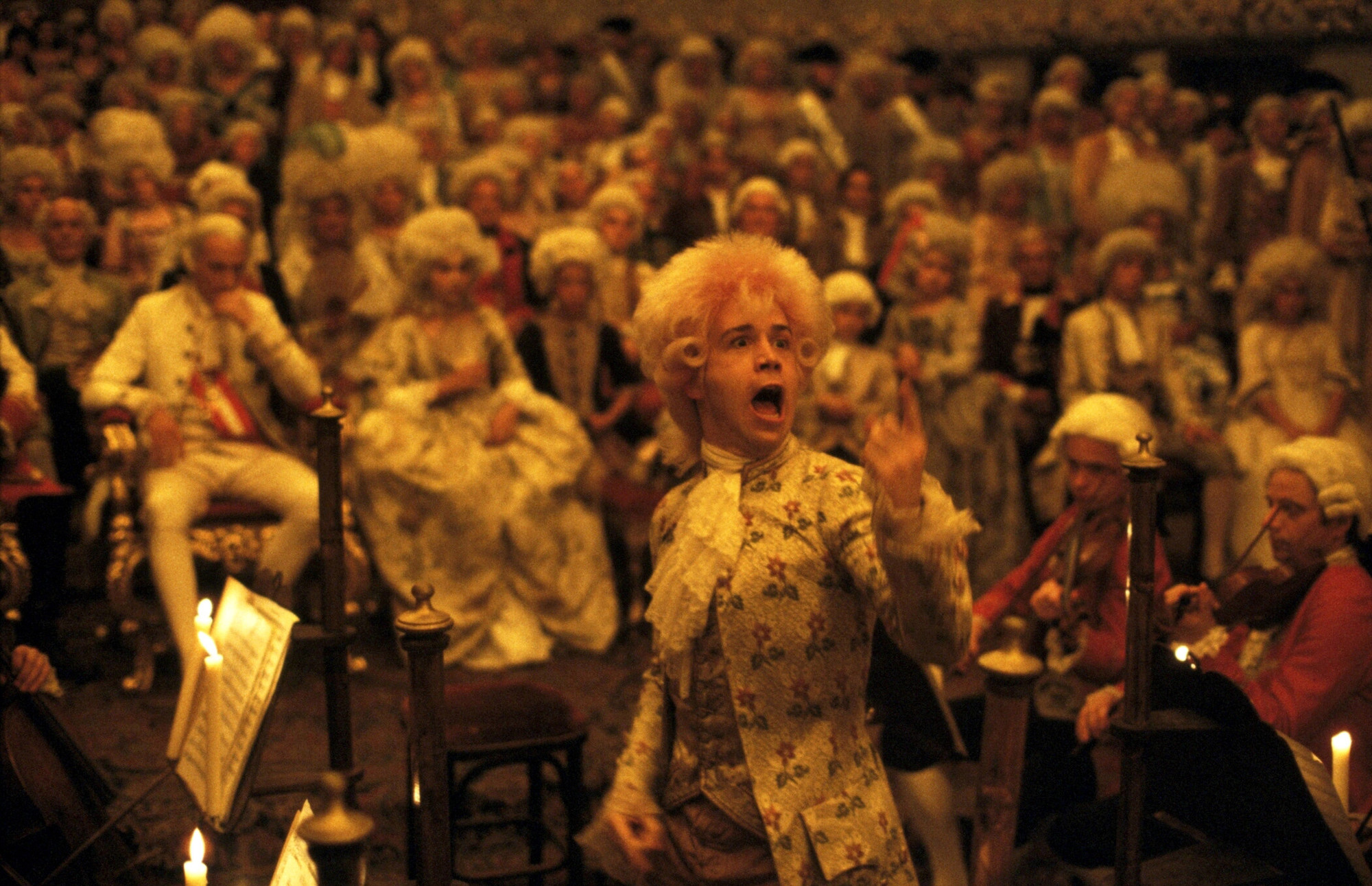 Amadeus. 1984. USA. Directed by Milos Forman. Courtesy of Warner Bros./Photofest. © Warner Bros.