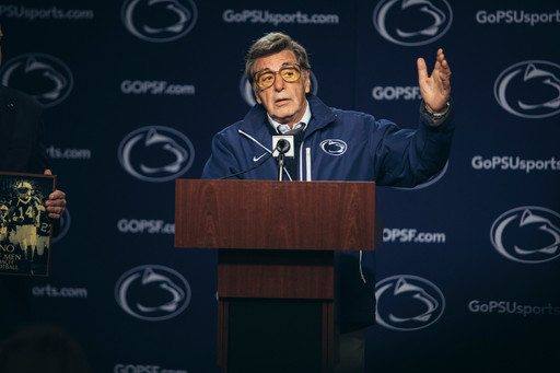 Paterno. 2018. USA. Directed by Barry Levinson. Image Courtesy Atsushi Nishijima/HBO