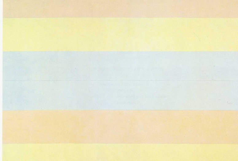 Agnes Martin. <em>With My Back to the World</em>. 1997