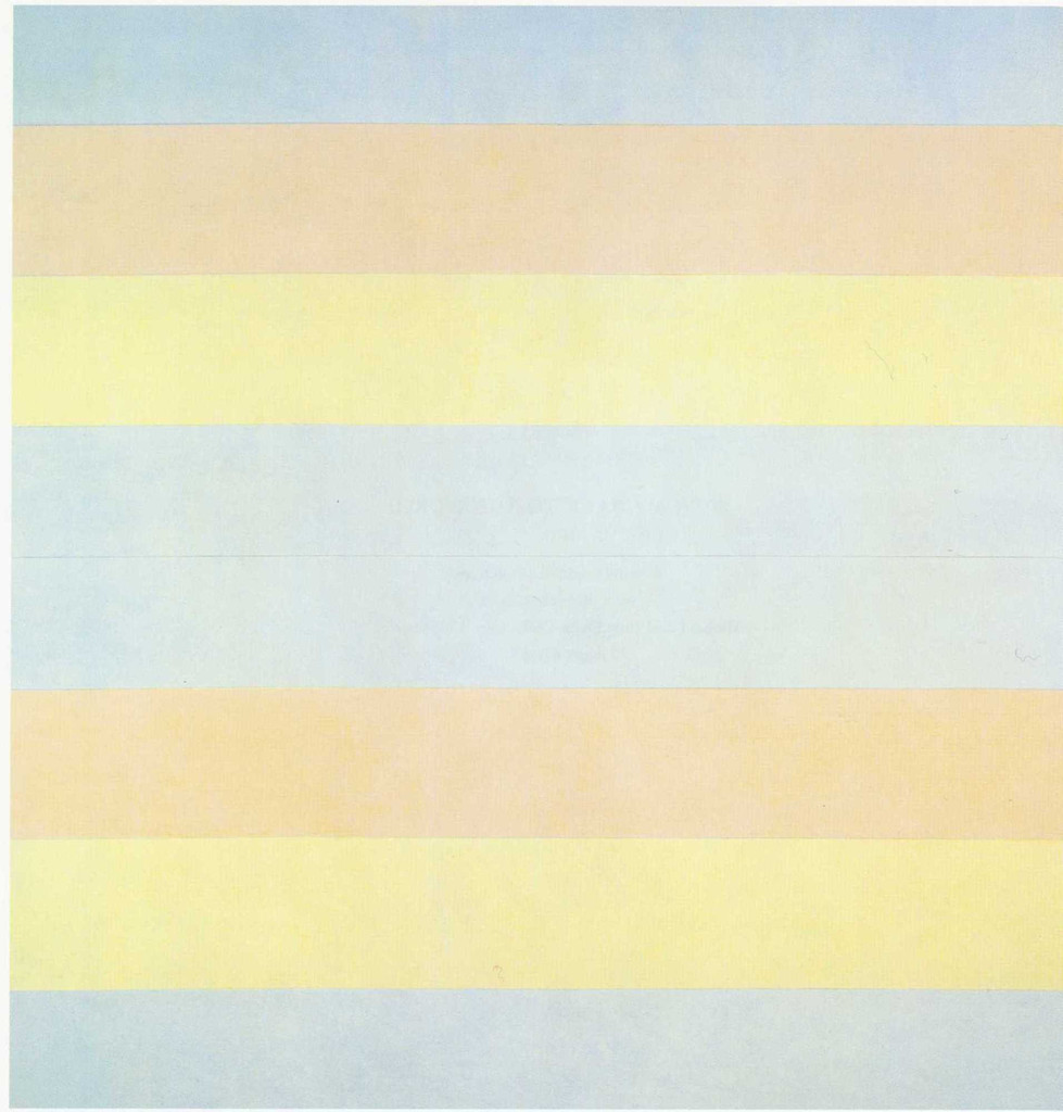 Agnes Martin. *With My Back to the World*. 1997