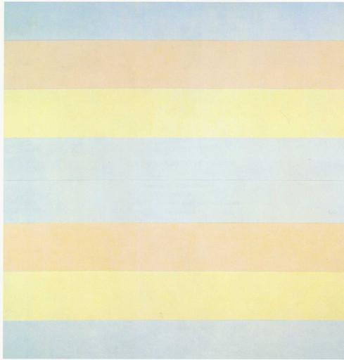 Agnes Martin. With My Back to the World. 1997