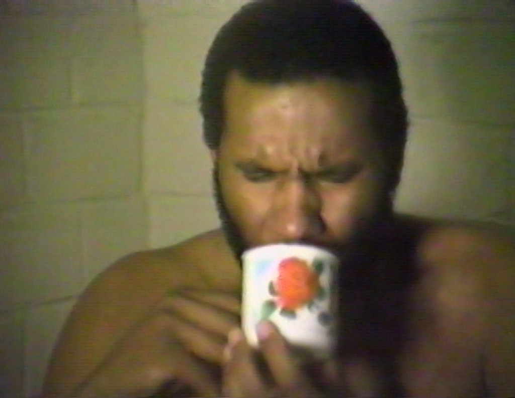 Ulysses Jenkins. *Inconsequential Doggerel*. 1981. Video transferred to DVD (color, sound), 15:18 min. Video still courtesy of the artist