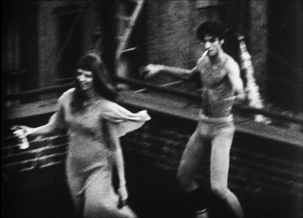 Andy Warhol. Still from *Jill and Freddy Dancing*, 1963. © The Andy Warhol Museum, Pittsburgh, a museum of Carnegie Institute. All rights reserved