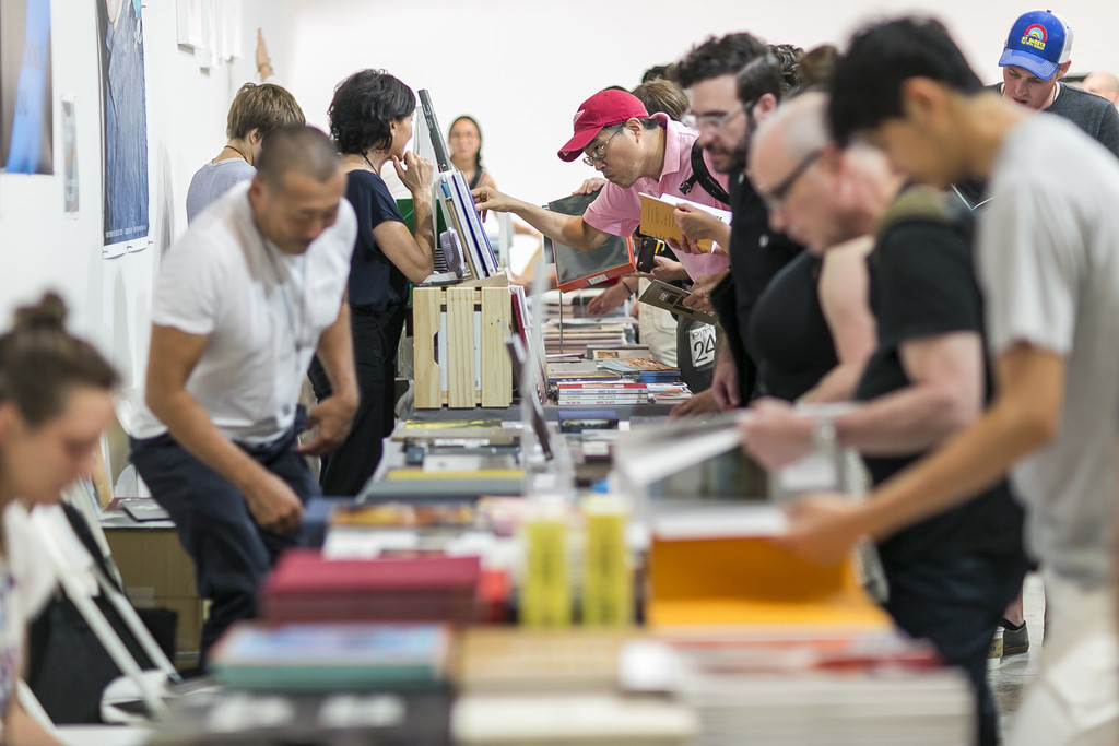 Printed Matter's NY Art Book Fair 2017. Photo: Jesse Winter