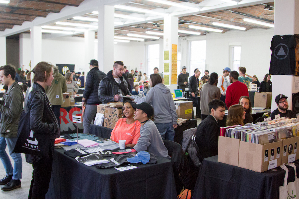 Come Together: Music Festival and Label Market at MoMA PS1 as a part of Sunday Sessions 2016. Photo: Derek Schultz