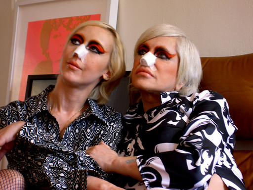 The Ballad of Genesis and Lady Jaye. 2011. USA. Directed by Marie Losier. Courtesy the artist. Pictured: Lady Jaye and Genesis P-Orridge