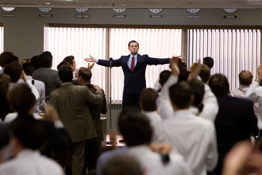The Wolf of Wall Street. 2013. Directed by Martin Scorsese. Courtesy Paramount Pictures/Photofest