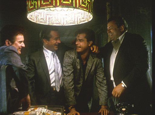 Goodfellas. 1990. Directed by Martin Scorsese. Courtesy Warner Brothers/Photofest