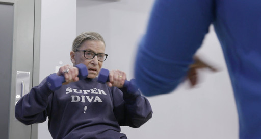 RBG. 2018. USA. Directed by Betsy West and Julie Cohen. Courtesy of Magnolia Pictures
