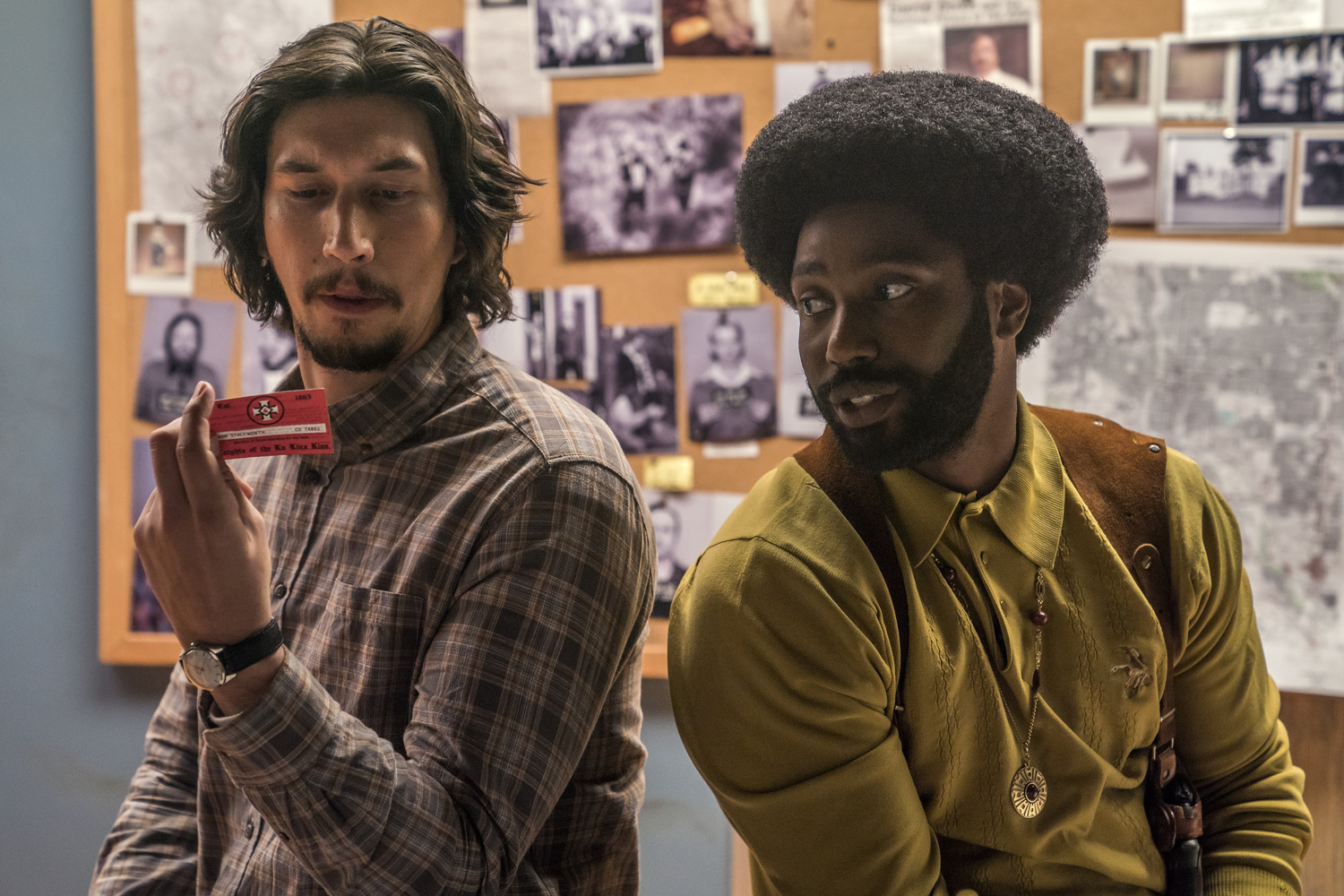 BlacKkKlansman. 2018. USA. Directed by Spike Lee. Courtesy of Focus Features