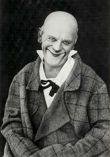 "Clowning Around (the World): ""The Swiss clown Grock in his famous make-up"""