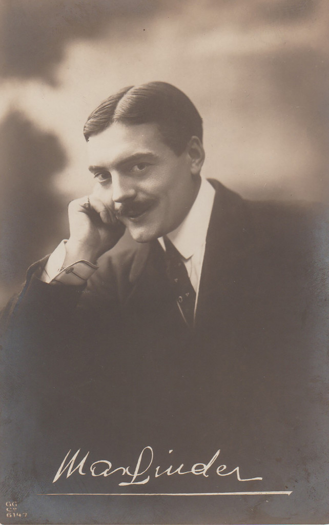 "Max Linder, Part One: ""Publicity photo of Max Linder"""