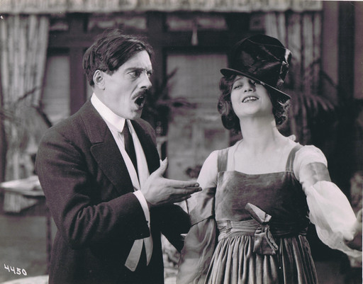 "Max Linder, Part Two: ""Max Linder and Francine Larrimore from the Essanay short Max Wants a Divorce (1917)"""