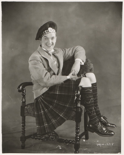 "The British Are Coming: ""Stan Laurel in a publicity photo for Putting Pants on Philip (1927)"""