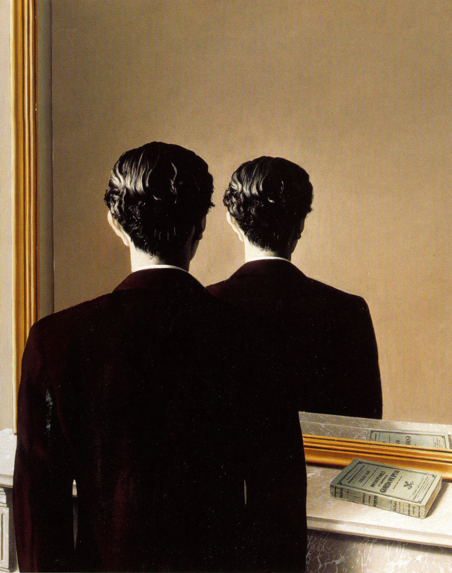 René Magritte. _La Reproduction interdite (Not to Be Reproduced)._ Brussels, 1937