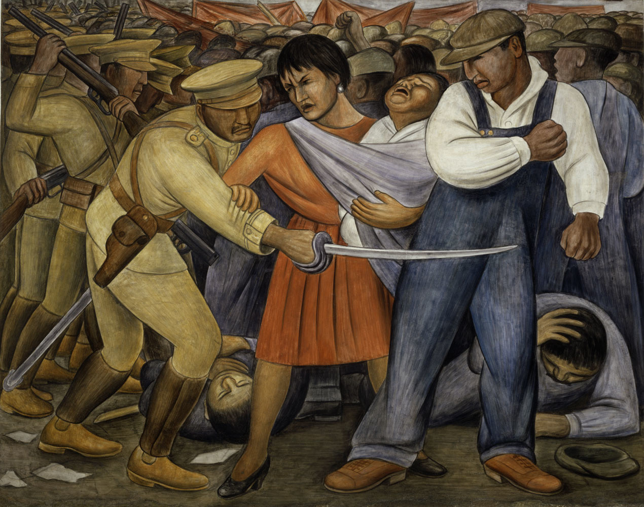 """fresco    74 x 93 3/4"""" (188 x 238.1 cm)    Vicky and Marcos Micha Levy, Mexico"""
