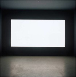 "Alfredo Jaar (Chilean, born 1956). Lament of the Images. 2002. Plexiglass text panels, light wall, and mixed media, Each text panel 23 x 20"" (58.4 x 50.8 cm), light wall 6 x 12' (182.9 x 365.8 cm). The Museum of Modern Art, New York. Latin American and Caribbean Fund, 2010. © 2015 Alfredo Jaar"