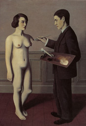 René Magritte. Tentative de l'impossible (Attempting the Impossible). Paris, 1928