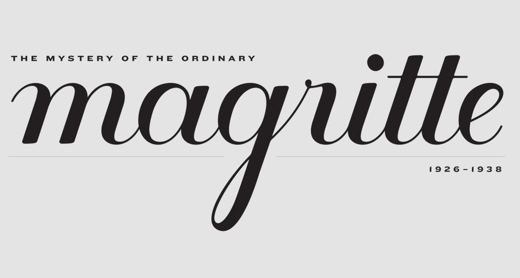 Magritte title graphic