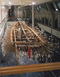 Cai Guo Qiang. Borrowing your enemy's arrows. 1998