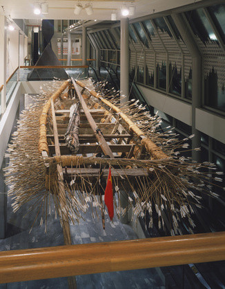 Cai Guo Qiang. _Borrowing your enemy's arrows_. 1998