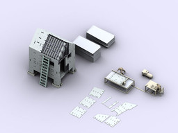 Massachusetts Institute of Technology School of Architecture and Planning / Associate Professor Lawrence Sass. Digitally Fabricated Housing for New Orleans (Exterior). 2008.