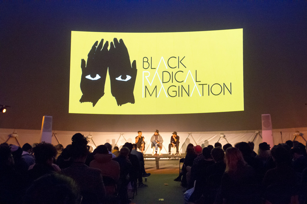 Black Radical Imagination on November 20, 2016, presented at MoMA PS1 as part of VW Sunday Sessions 2016-2017. Photo by Derek Schultz.