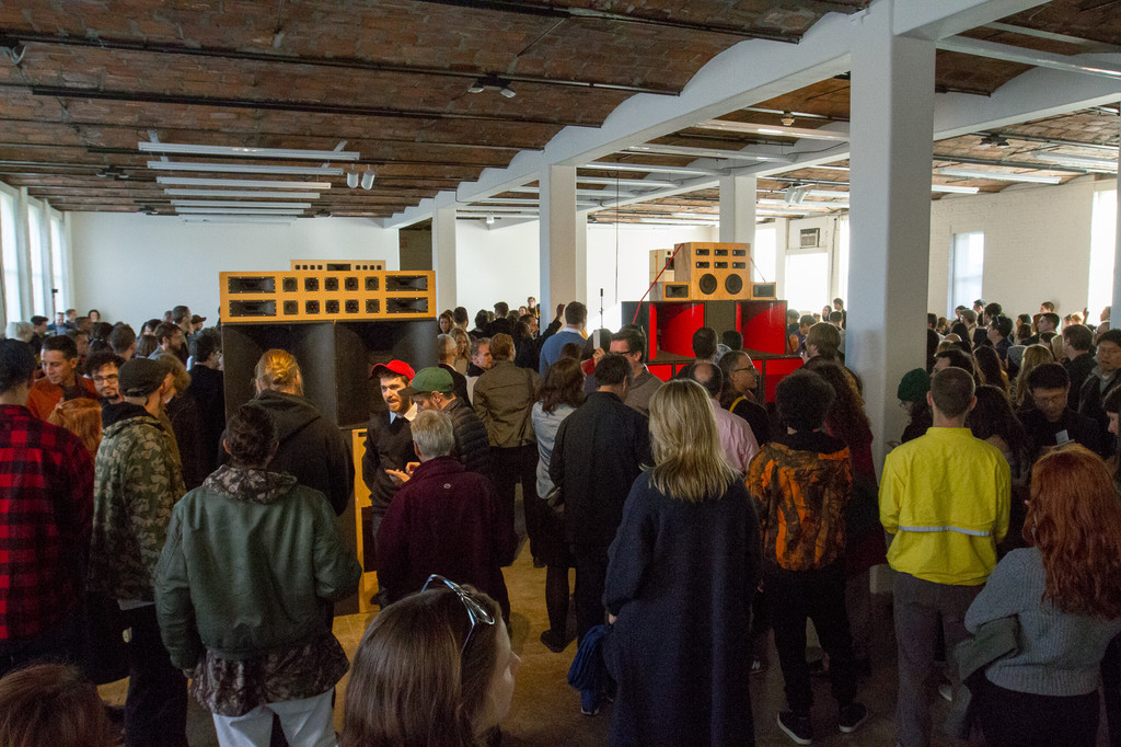 Mark Leckey: BigBoxPS1Action October 23, 2016, presented at MoMA PS1 as part of VW Sunday Sessions 2016-2017. Photo by Derek Schultz.