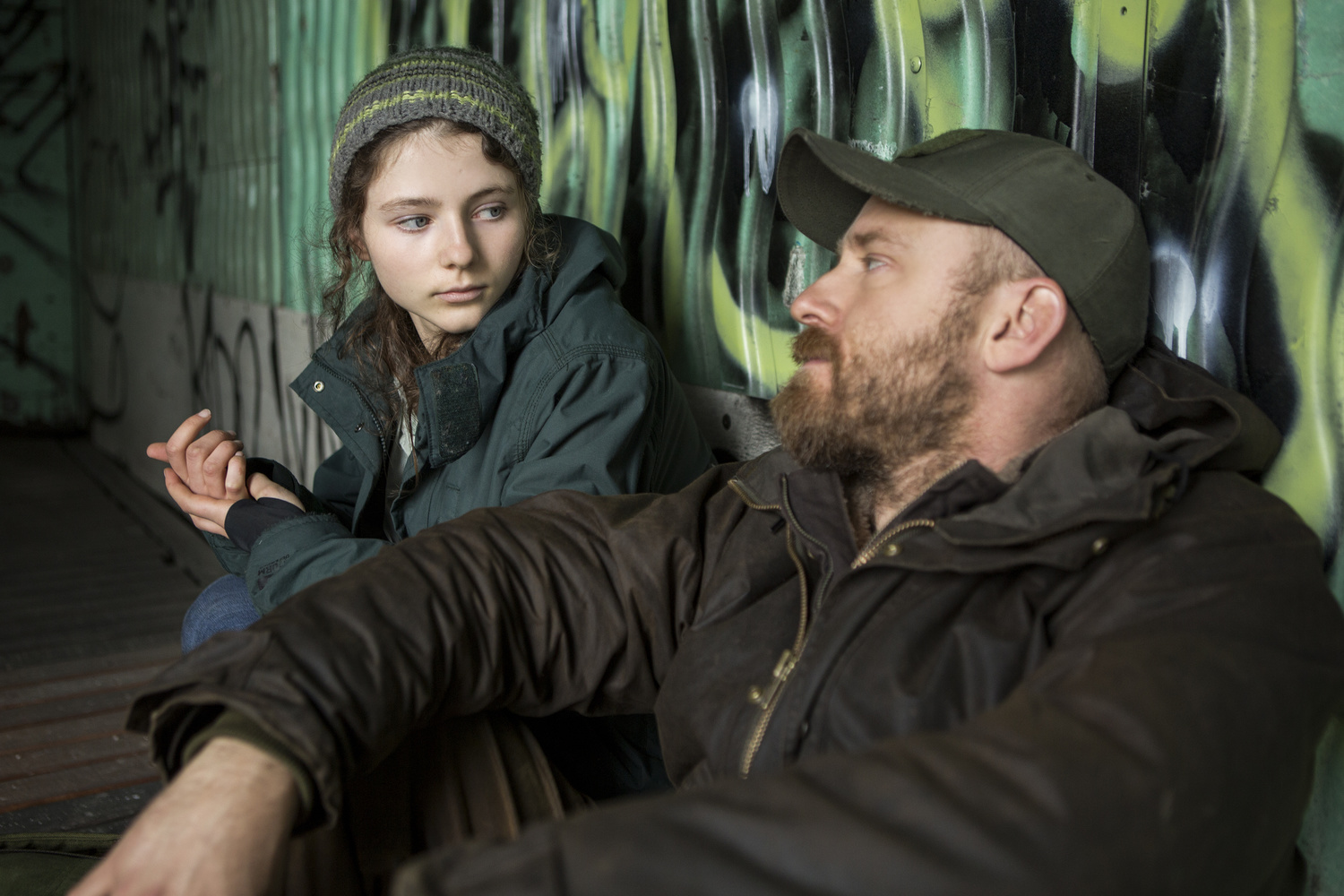 Leave No Trace. 2018. USA. Directed by Debra Granik. Courtesy of Bleecker Street