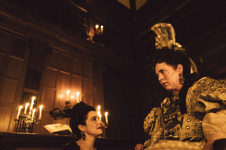 The Favourite. 2018. USA. Directed by Yorgos Lanthimos. Courtesy of Fox Searchlight