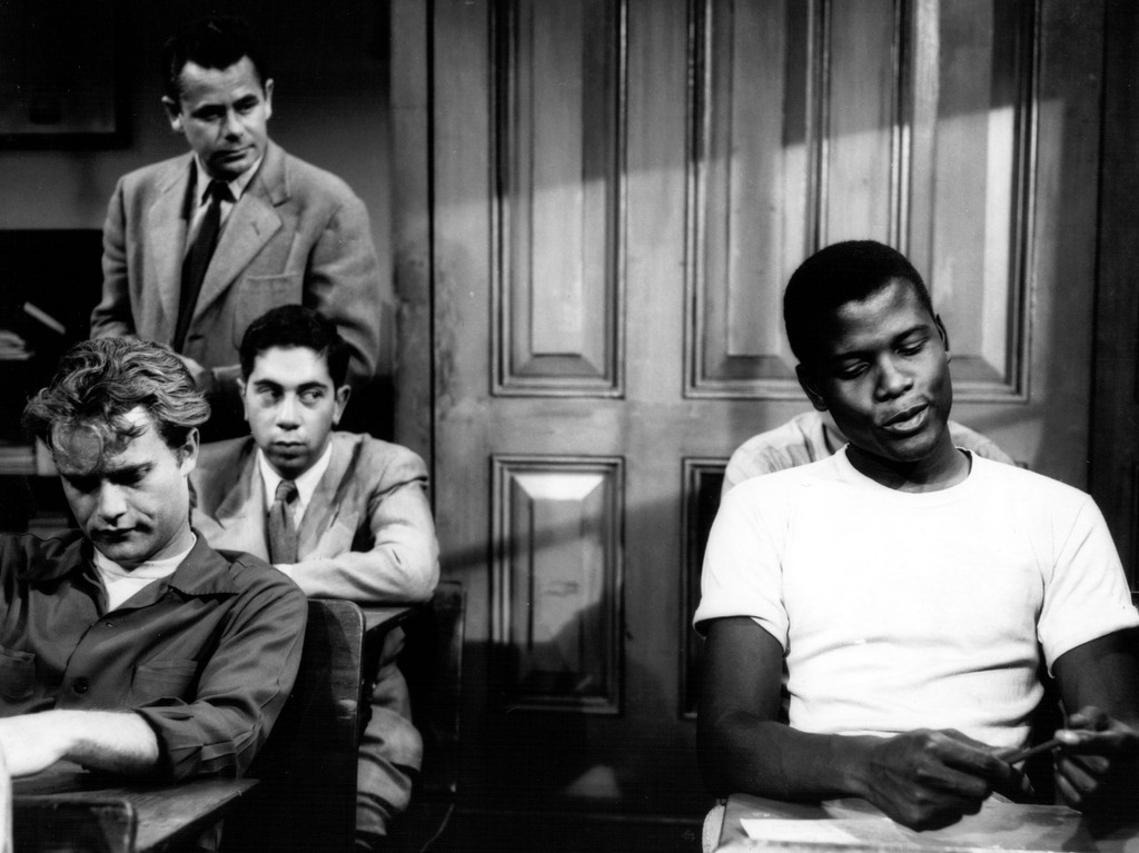 Image result for sidney poitier the blackboard jungle