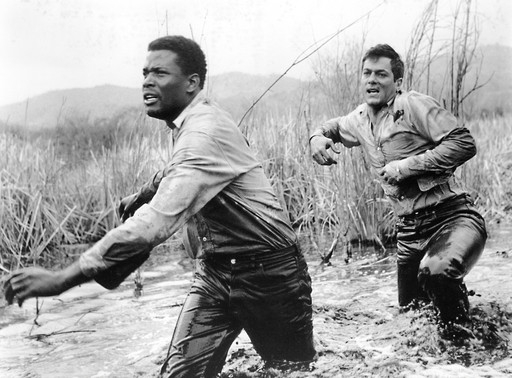 The Defiant Ones. 1958. USA. Directed by Stanley Kramer. Courtesy United Artists/Photofest