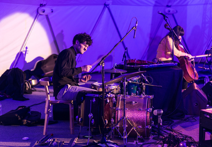 1+2+3: Solos, Duos, and Trios for Greater New York on November 15, 2015. Presented at MoMA PS1 as part of VW Sunday Sessions 2015-2016. Photograph: Charles Roussel.