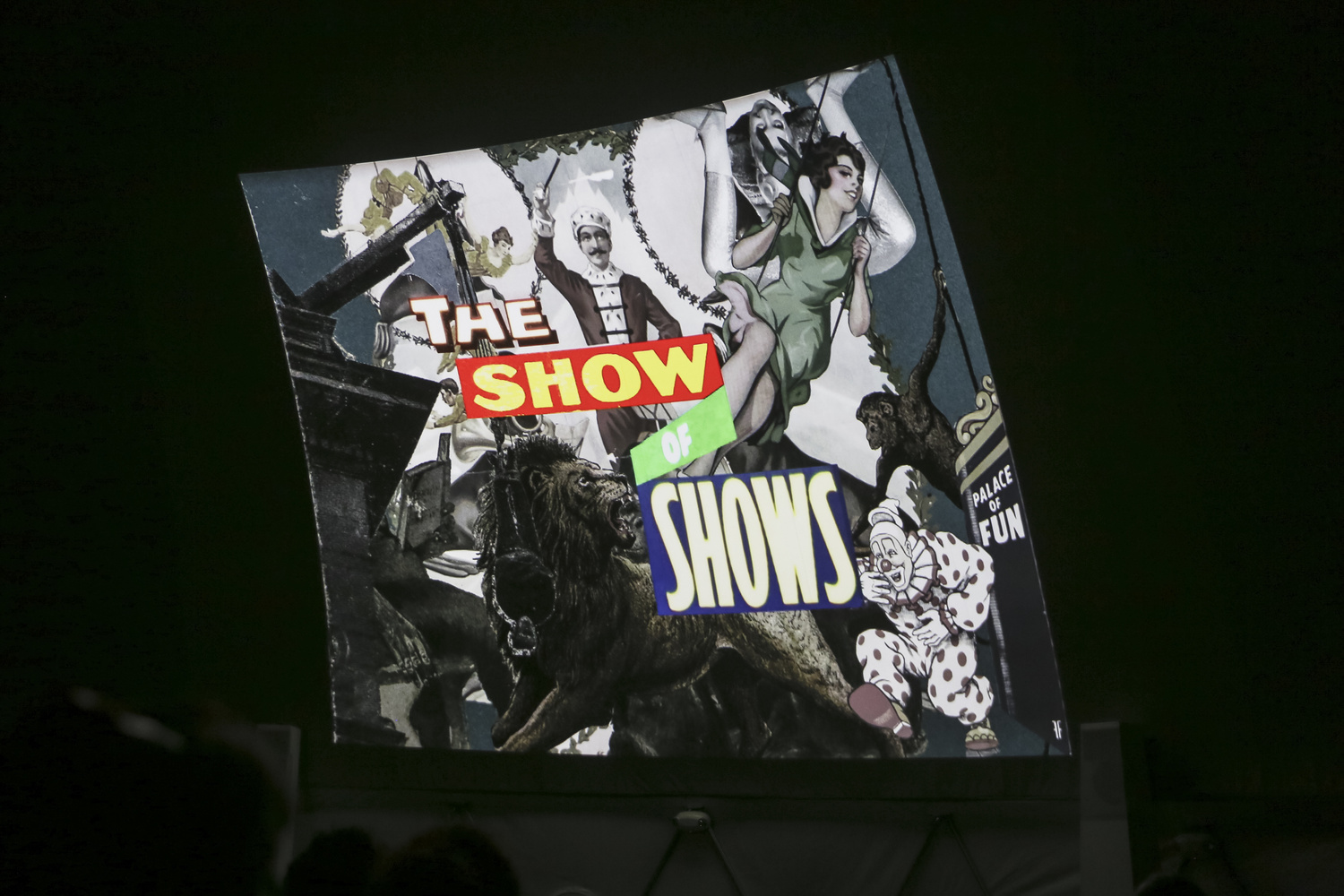 The Show of Shows: 100 Years of Vaudeville, Circuses and Carnivals on April 17, 2016, presented at MoMA PS1 as part of VW Sunday Sessions 2015-2016. Photo by Charles Roussel.