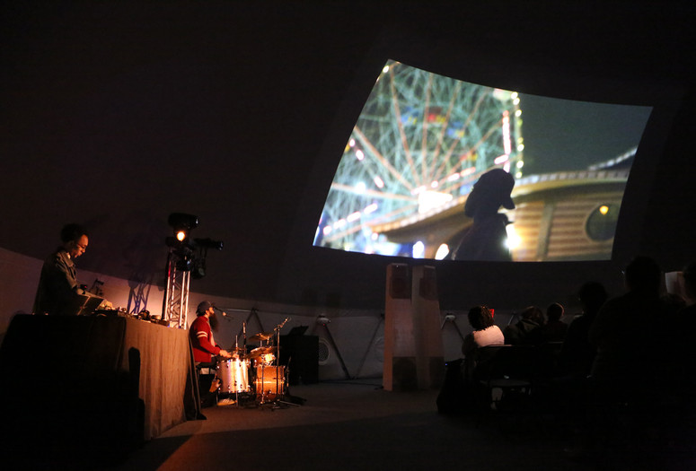 Cities, Dead and Alive (Despair is Not an Option): Jem Cohen and Luc Sante with Sukhdev Sandhu, Ryan Sawyer, and Jace Clayton on December 6, 2015. Presented at MoMA PS1 as part of VW Sunday Sessions 2015-2016. Photograph: Charles Roussel.