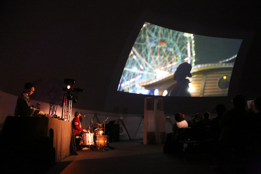 Cities, Dead and Alive (Despair is Not an Option): Jem Cohen and Luc Sante with Sukhdev Sandhu, Ryan Sawyer, and Jace Clayton on December 6, 2015, presented at MoMA PS1 as part of VW Sunday Sessions 2015-2016. Photo by Charles Roussel.