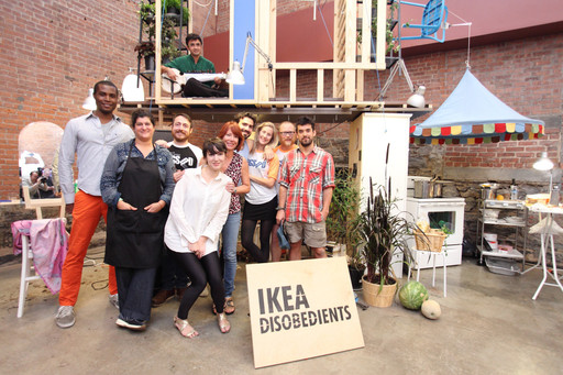 IKEA Disobedients, 2012, at MoMA PS1 as part of VW Sunday Sessions. © 2012 MoMA PS1, New York.