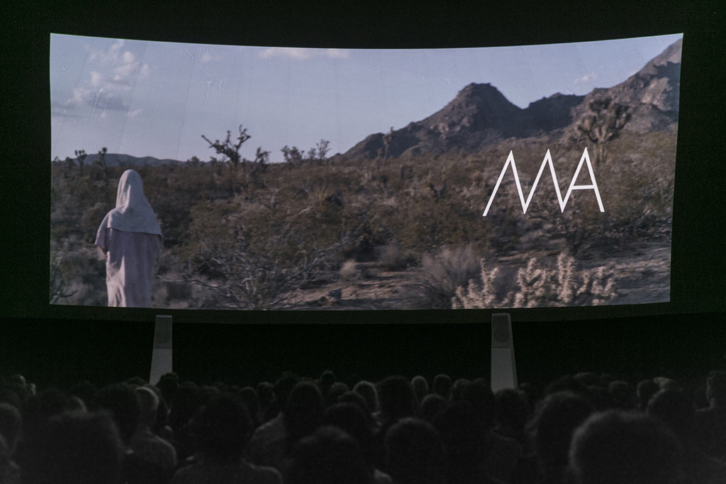 Tribeca Film Festival: MA by Celia Rowlson-Hall on April 19, 2015, presented at MoMA PS1 as part of VW Sunday Sessions 2014-2015. Photo by Derek Schultz.